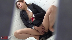 Hot Masturbation In Subway